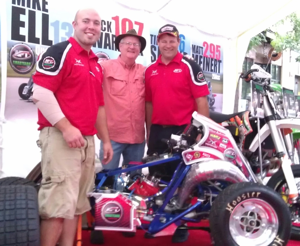 Fan Fest Dale, Mike, Bill