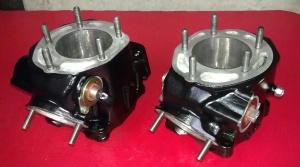 RZ350 Cylinders Repainted